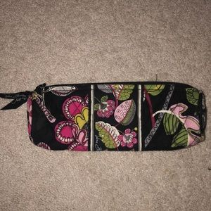 NWOT Vera Bradley Brush and Pencil bag